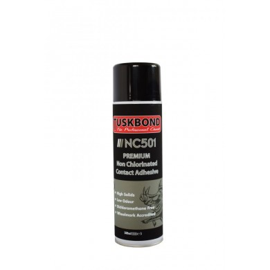 Tuskbond NC501 – Premium Non Chlorinated Contact Adhesive Aerosol 500ml
