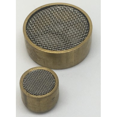 6-25 mm Diameter Stainless Steel Vent 0.4 mm Mesh