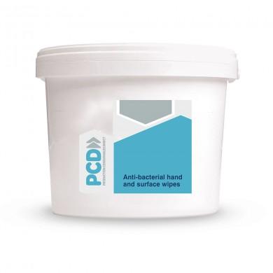 12 x Tubs Antibacterial Surface Wipes - 300 Wipes Per Tub
