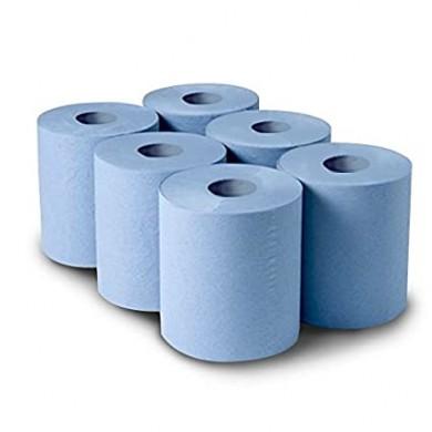 Blue Tissue Rolls