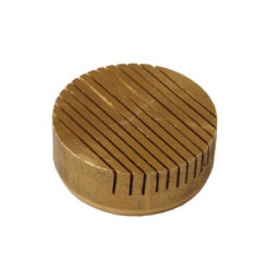 30mm Diameter Brass Tapered Vent 0.3mm Slot