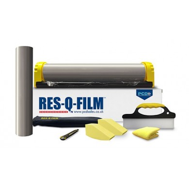 Res-Q-Film RTC Glass Management Kit With 500mm x 50m Roll Of Film